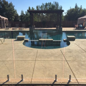 Phoenix Pool Fence Company Invisible Glass Fence Aquaview Glass Pool Fences Railing Systems
