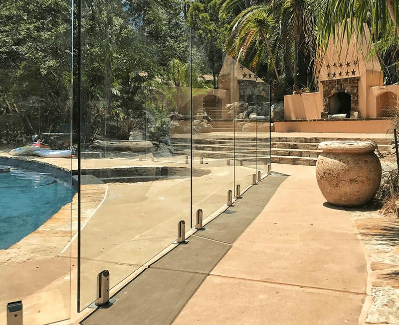 Glass Pool Fence glass pool fences & glass railings | aquaview