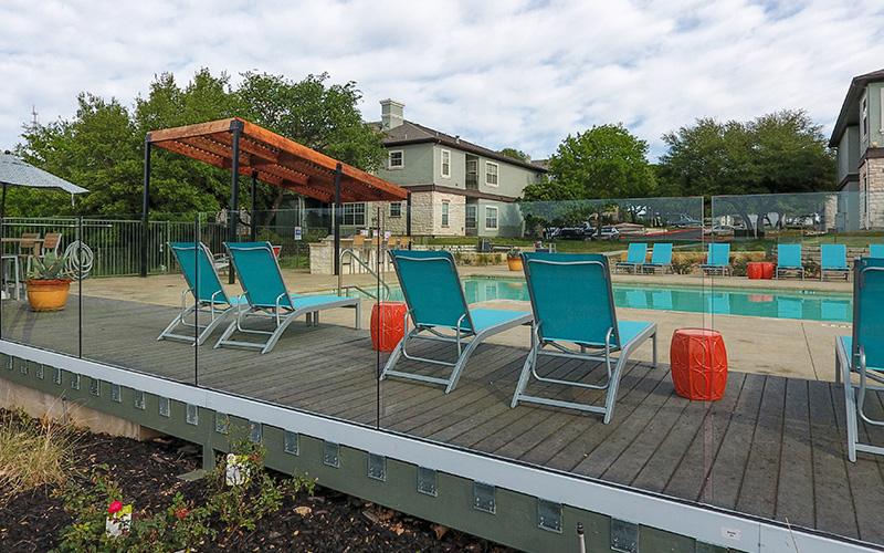 Commercial pool fencing riverlodge apartments austin tx