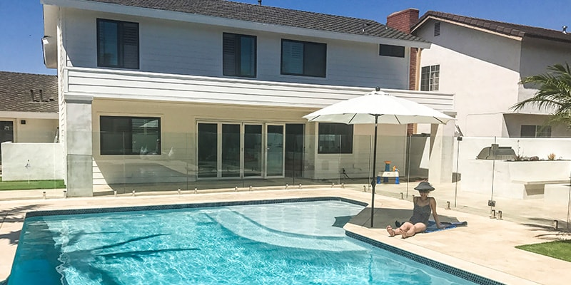 Invisible Glass Pool Fencing New Home Design Product