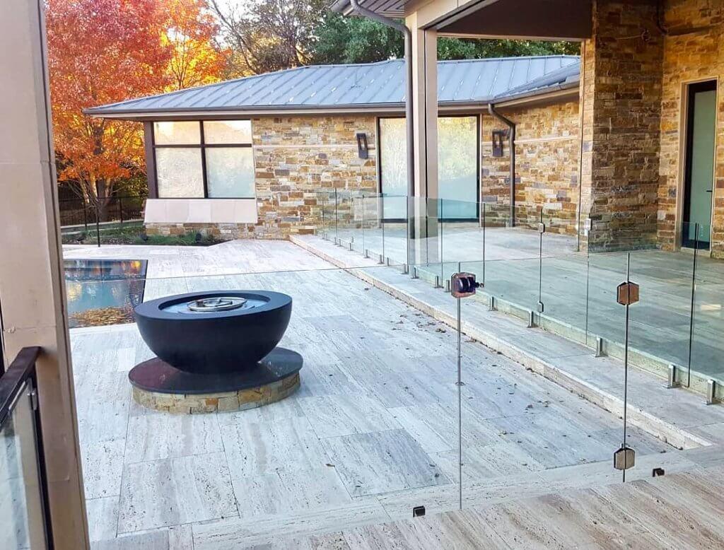 Glass Pool Fence Dallas Texas Aquaview Glass Pool